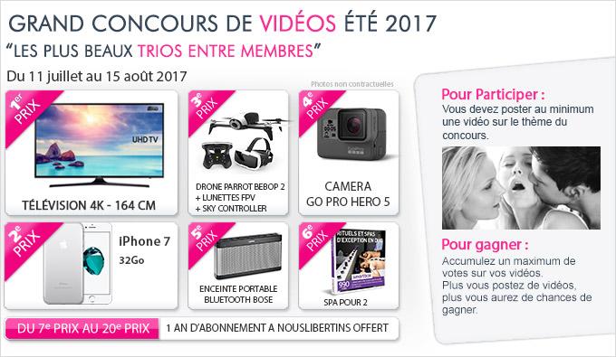Concours trio en vidéos 2017