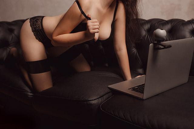 Comment rendre une femme folle de sexe par webcam ?